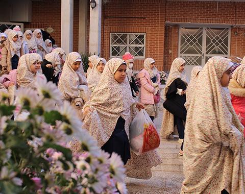 مراسم جشن تکلیف مدارس امام حسین(علیه السلام)