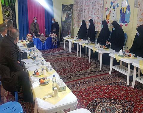 جلسه ماهانه (دی ماه ۹۹) مدیران ابتدایی مدارس امام حسین (ع)