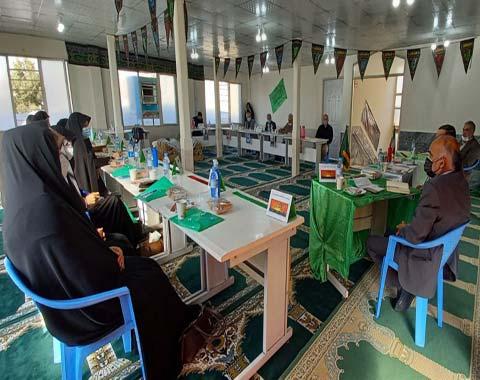 برگزاری جلسه مدیران مدارس ابتدایی و پیش دبستانی امام حسین(ع)