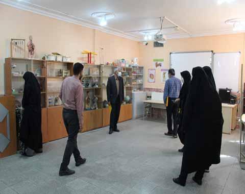 بازدید مدیران مدارس امام حسین علیه السلام سبزوار از مدارس مشهد